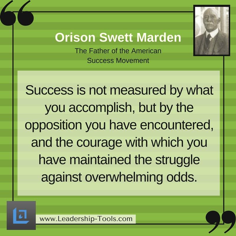 Orison Marden Quotes