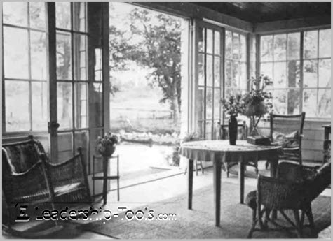 Orison Swett Marden's Sun Room and Writing Table