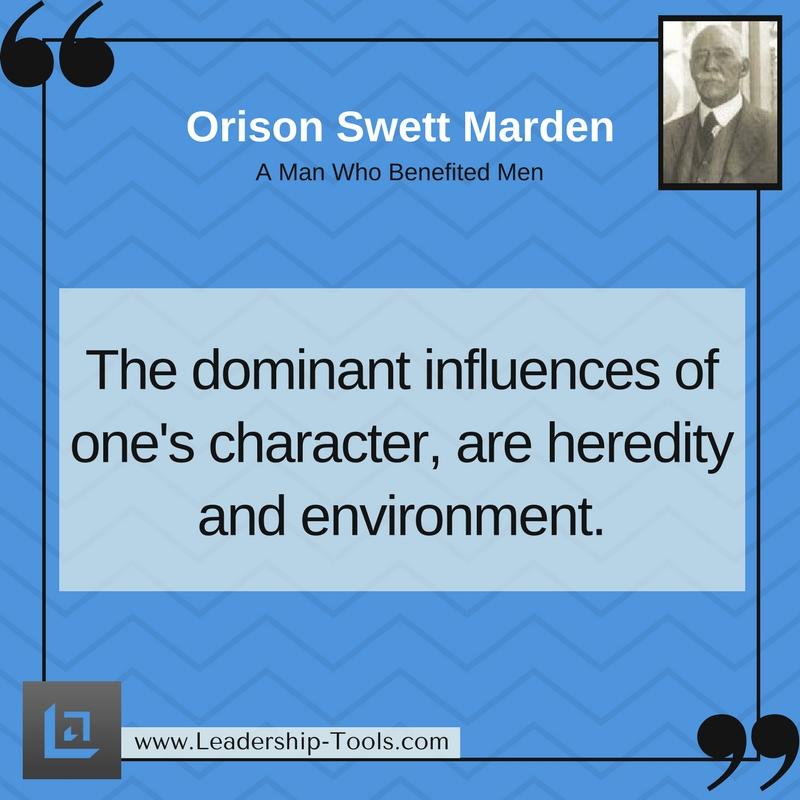 Orison Marden Quotations