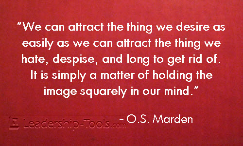 Prosperity and The Law Of Attraction