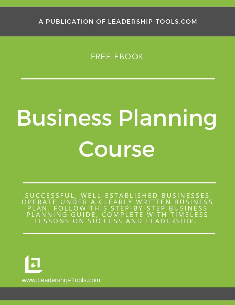 business planning ebook