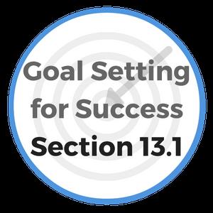 goal setting lesson plan