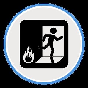 employee exit icon