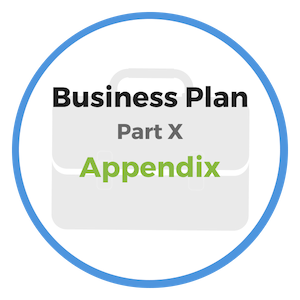 business plan appendix