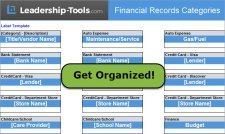 organize personal finances