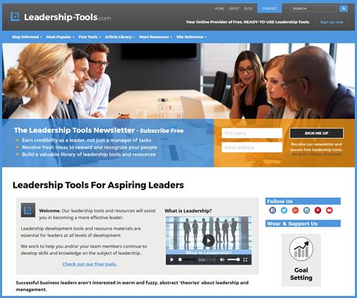 leadership tools design