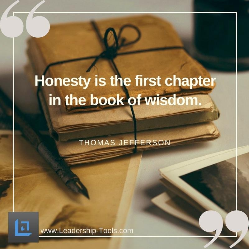 quote honesty