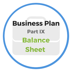 balance sheet statement