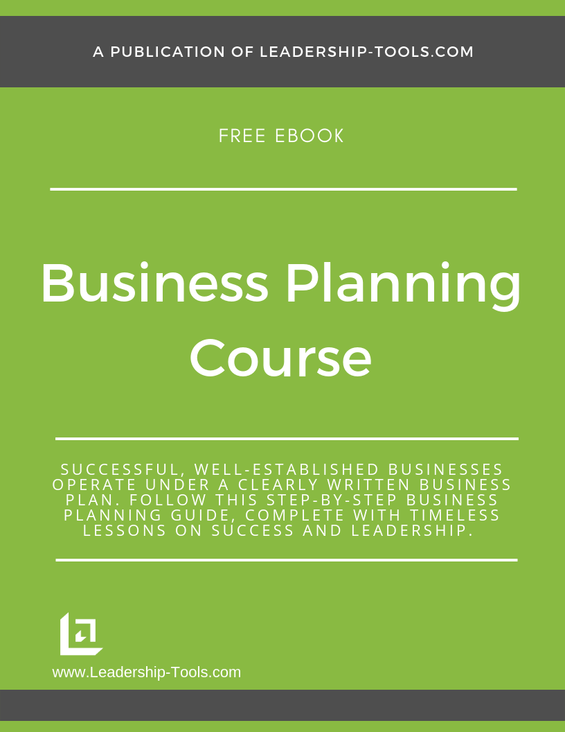 business planning ebook