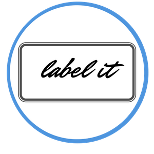 financial records labels