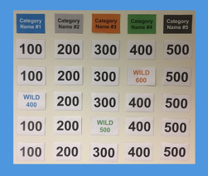 photograph relating to Jeopardy Game Board Printable named Jeopardy Video game Template Management Equipment
