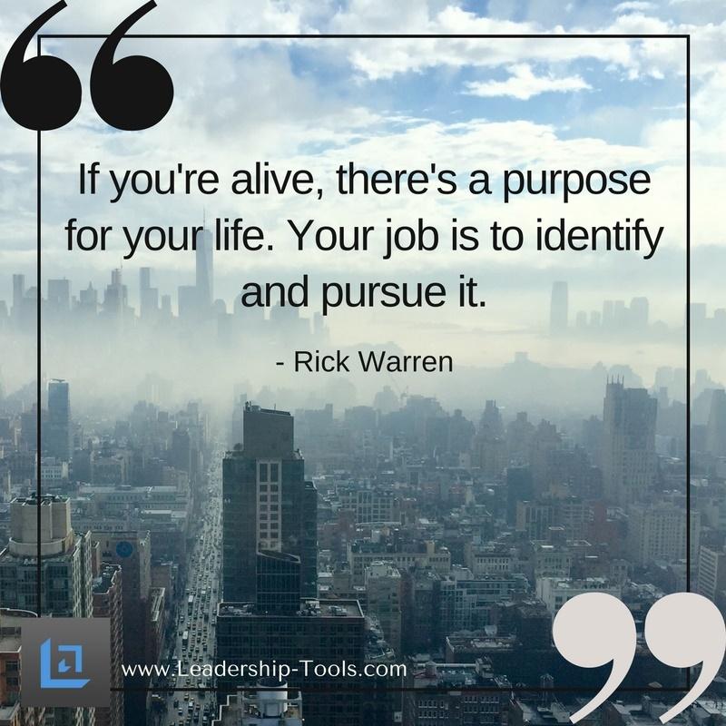 purpose and identity
