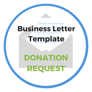 donation request letter