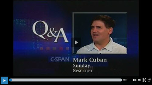 mark cuban cspan interview