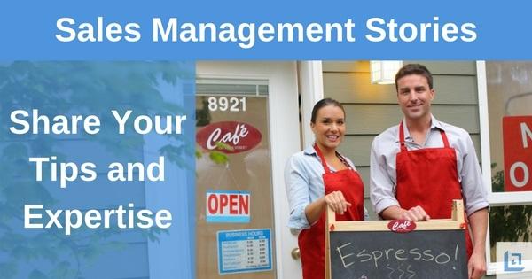 sales management stories
