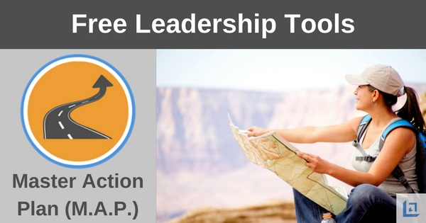 Master Action Plan (M A P ) | Free Leadership Tool