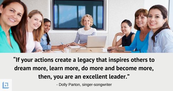woman in leadership