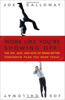 work like you are showing off