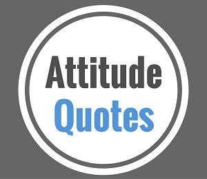 quote attitude